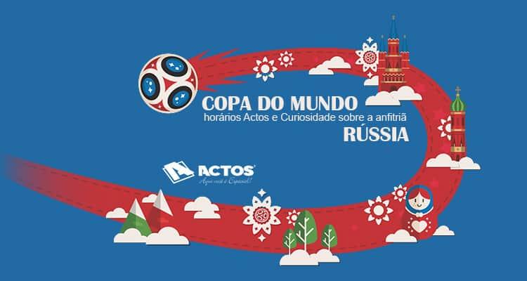 Copa do Mundo 2018 e sua anfitriã Rússia