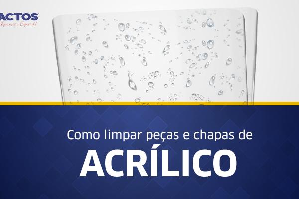 limpar acrilico-blog